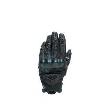 Dainese D-EXPLORER 2 GLOVES, BLACK/EBONY fekete-kék kesztyű