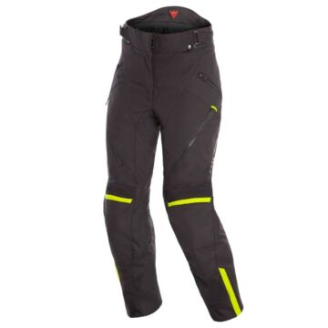 Dainese TEMPEST 2 D-DRY® LADY PANT BLACK/BLACK/FLUO-YELLOW nadrág