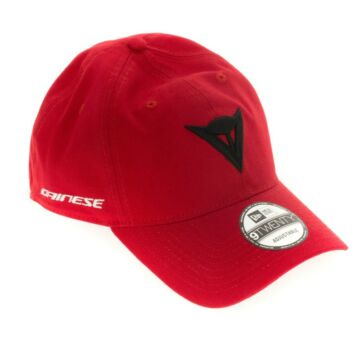 DAINESE 9TWENTY CANVAS STRAPBACK CAP RED