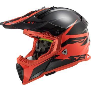MX437 FAST EVO ROAR MATT BLACK RED