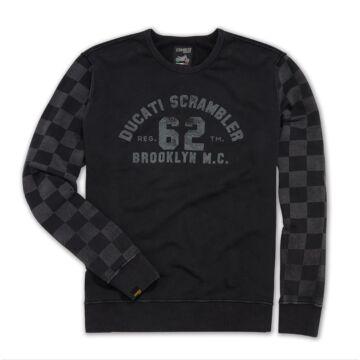 Scrambler Ducati Brooklyn Cafe pulóver