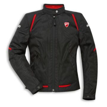 Ducati Fabric Flow C3 Női Dzseki