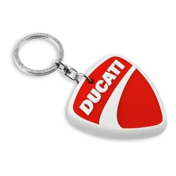 Ducati Company Logo PVC kulcstartó