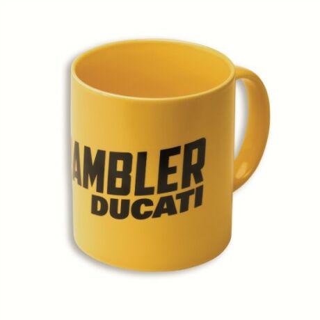 Scrambler bögre -sárga