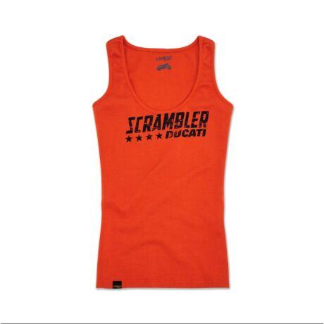 Scrambler Ducati Orange Flip női trikó