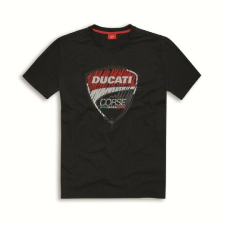 Ducati Corse poló, fekete