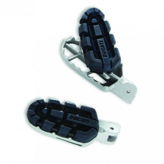 DUCATI Enduro lábtartó szett STEEL FOOTPEGS