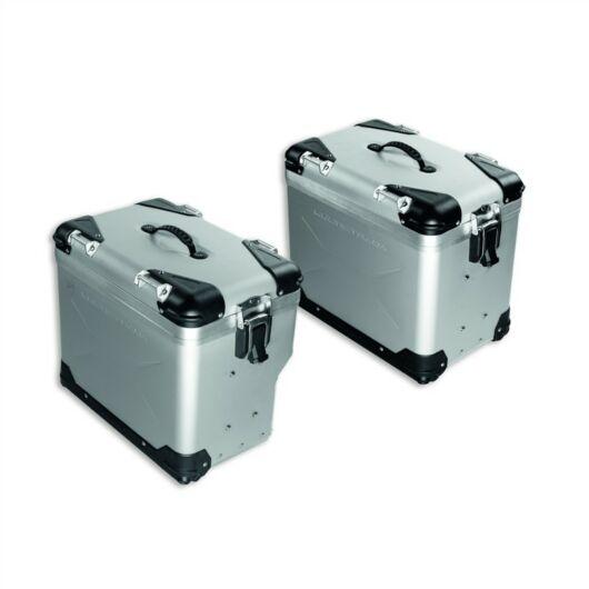DUCATI Aluminium oldal dobozok ALUMINIUM SIDE PANNIERS