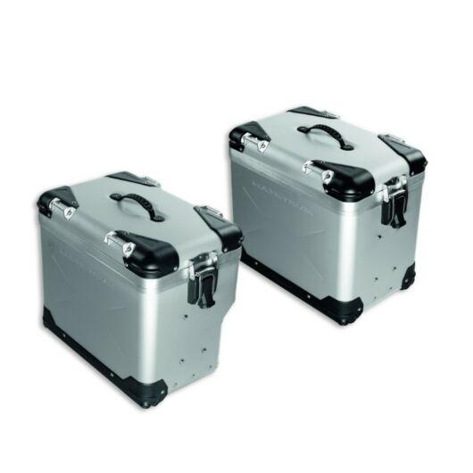 DUCATI Aluminium oldaldoboz szett ALUMINIUM SIDE PANNIERS