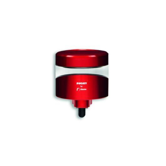 DUCATI Fékolaj tartály piros - DUCATI by Rizoma BRAKE FLUID RESERVOIR