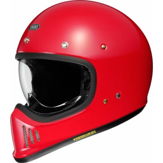 SHOEI bukósisak SHOEI, EX-Zero red, red M
