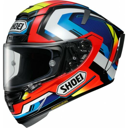 SHOEI X-SPIRIT III, Brink TC-1