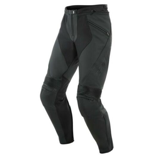 Dainese Pony 3 Leather Nadrág matt fekete