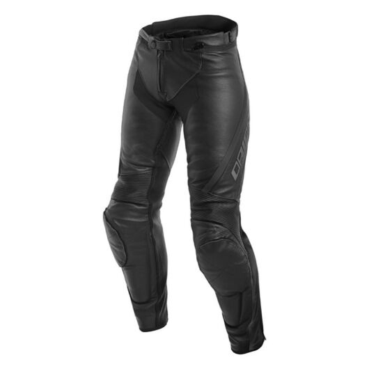 DAINESE nadrág ASSEN LADY LEATHER PANTS, BLACK/ANTHRACITE