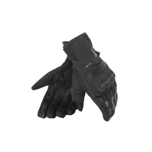 Dainese TEMPEST UNISEX D-DRY® SHORT GLOVES fekete kesztyű