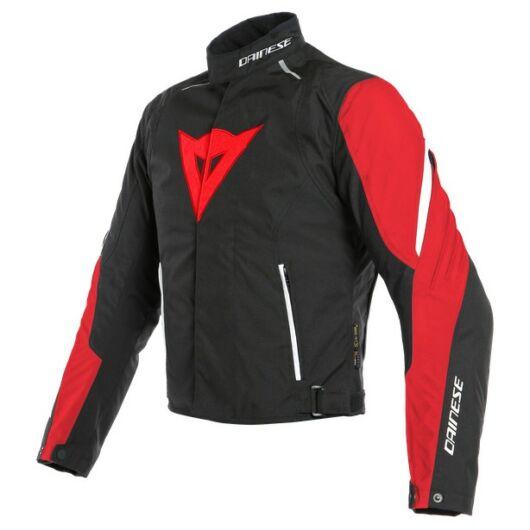 Dainese LAGUNA SECA 3 D-DRY JACKET LAVA-RED/BLACK/WHITE dzseki