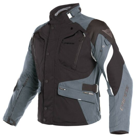 Dainese DOLOMITI GORE-TEX JACKET GORE-TEX®, BLACK/EBONY/LIGHT-GRAY