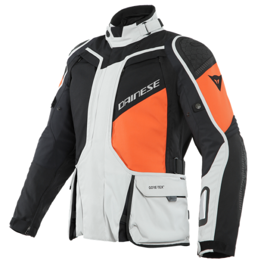 Dainese D-EXPLORER 2 GORE-TEX®, GLACIER-GRAY/ORANGE/BLACK