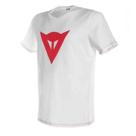Dainese SPEED DEMON T-SHIRT, WHITE/RED