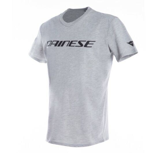 DAINESE T-SHIRT, GRAY-MELANGE/BLACK