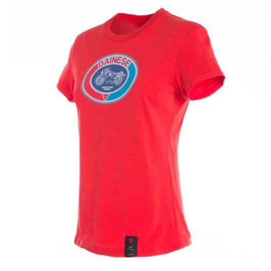 Dainese MOTO72 LADY T-SHIRT piros póló