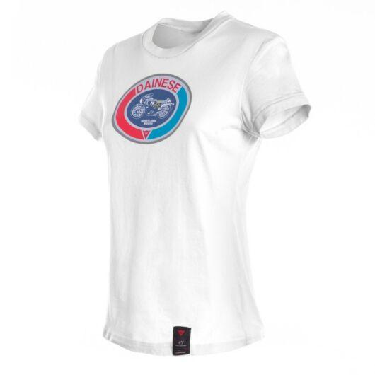 Dainese MOTO72 LADY T-SHIRT fehér póló