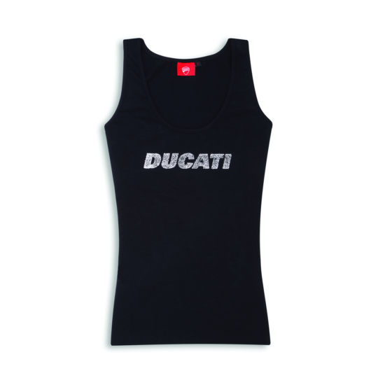 Ducati női fekete trikó