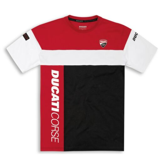 Ducati Track 21 piros póló