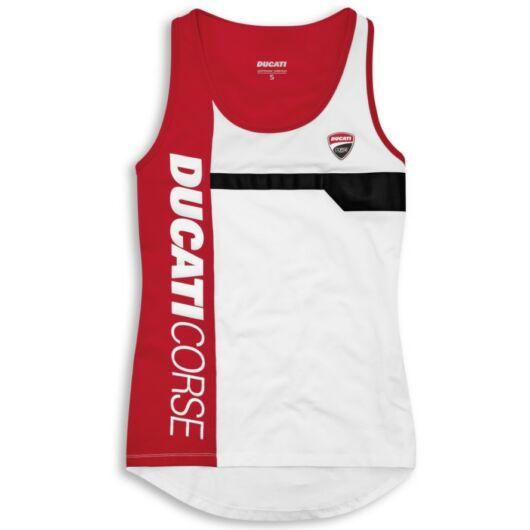 Ducati Track 21 fehér női póló
