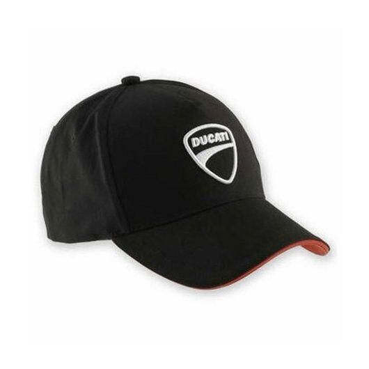 Ducati Company black baseball sapka