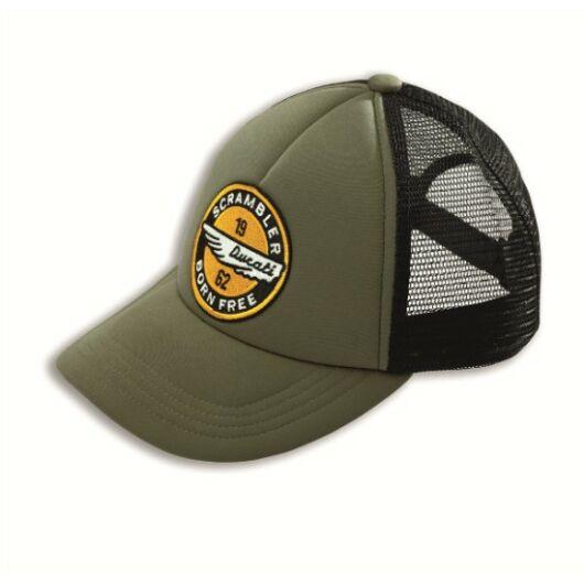 Scrambler Heritage Cap baseball sapka