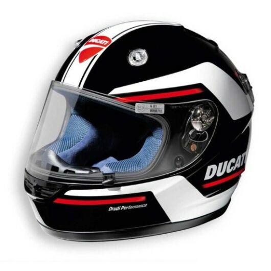 Ducati Twin black helmet